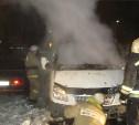 Ночью в Тульской области сгорели два автомобиля