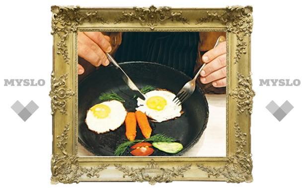 Вся сила в яйцах!