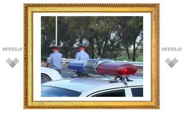 В Туле гаишники устроили погоню за пьяным водителем