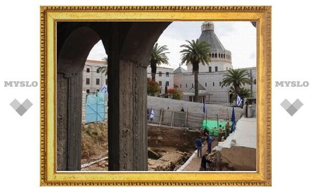 Археологи нашли в Назарете дом времен земной жизни Христа