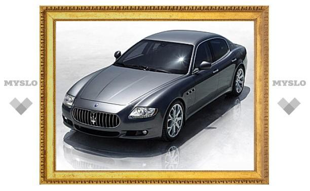 Дешевый седан Maserati появится в 2014 году