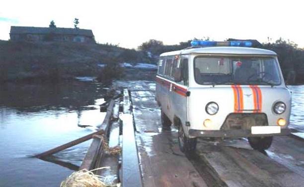 Транспортное сообщение с населёнными пунктами в Одоевском и Куркинском районе восстановлено