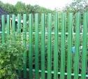 В Туле цыган украл с дачи металлический забор