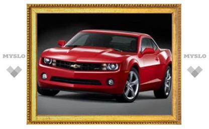 Появились официальные изображения Chevrolet Camaro 2010 модельного года