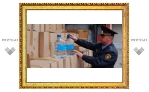 Тульские милиционеры нашли 90 тонн спирта