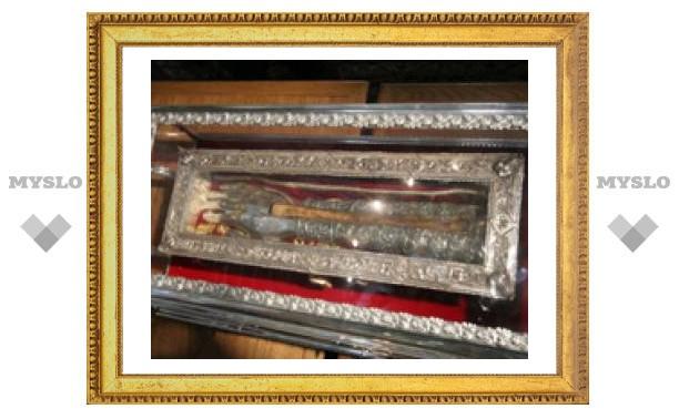 В Тулу привезли мощи Святого Спиридона