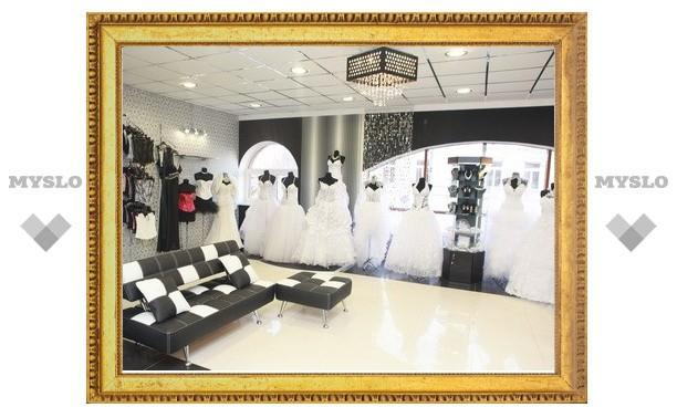В Туле открылся новый свадебный салон