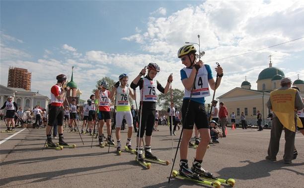 На старт лыжероллерного спринта вышли 120 участников