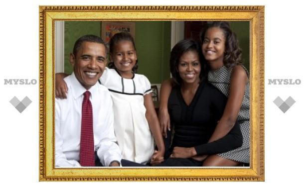 Семья президента США получила прививки против гриппа H1N1