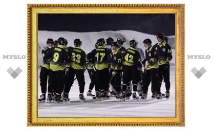 Коньки хоккеистов развалились от мороза