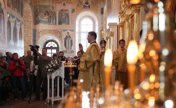 В День города освятили храм в колокольне Тульского кремля