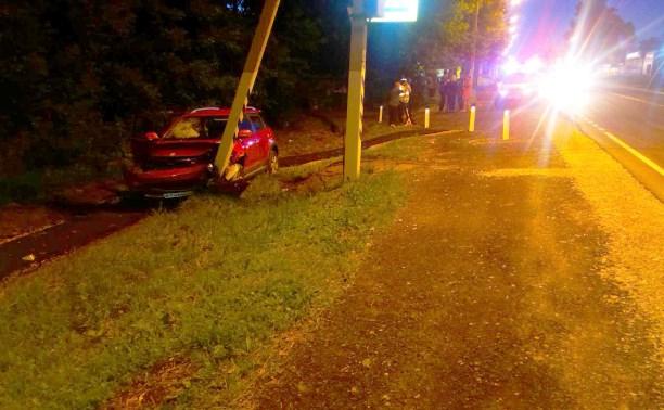 Под Тулой девочка попала под колеса автомобиля