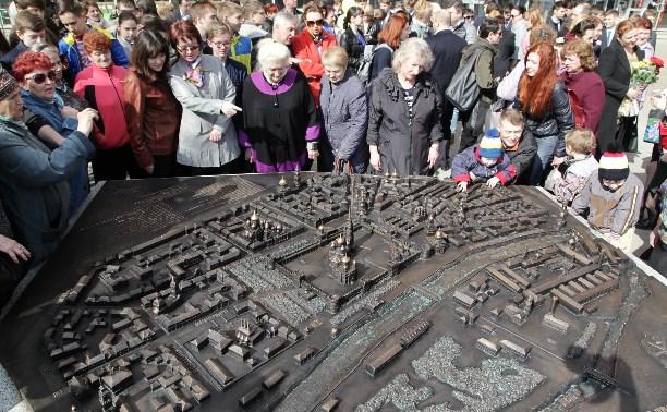В Туле появилась новая скульптура «Исторический центр города»
