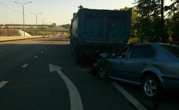 """Водитель и пассажир легковушки погибли в ДТП на трассе """"Дон"""""""