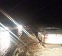 Под Тулой пешехода сбили два автомобиля