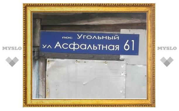 """Туляки предлагают назвать Асфальтную улицу """"Безасфальтной"""""""