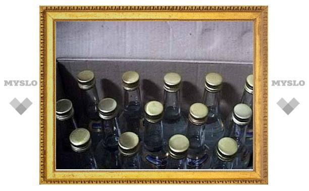 В Москве изъято 20 тысяч бутылок паленой водки