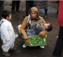 Полиция предложила сажать в тюрьму попрошаек с детьми