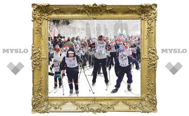 «Лыжня России» собрала в Туле 3000 спортсменов