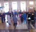 Туляки на Московском вокзале воспели «Прекрасное далеко»