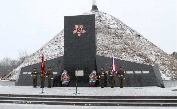 Мемориальный комплекс «Курган Бессмертия» в Киреевском районе открылся после капитального ремонта
