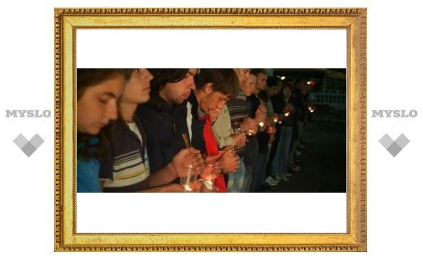 Туляки почтили память погибших в Осетии