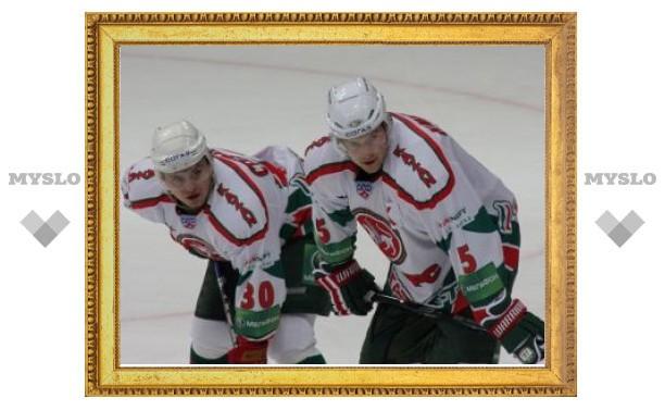 """""""Ак Барс"""" выиграл матч Кубка Гагарина в третьем овертайме"""