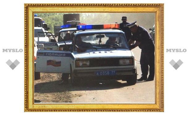 В Тульской области при задержании преступников сотрудники ДПС применили табельное оружие