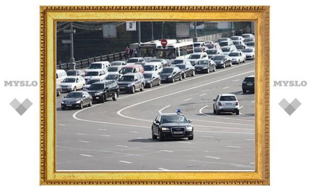 Количество спецтрасс в Москве увеличилось на треть