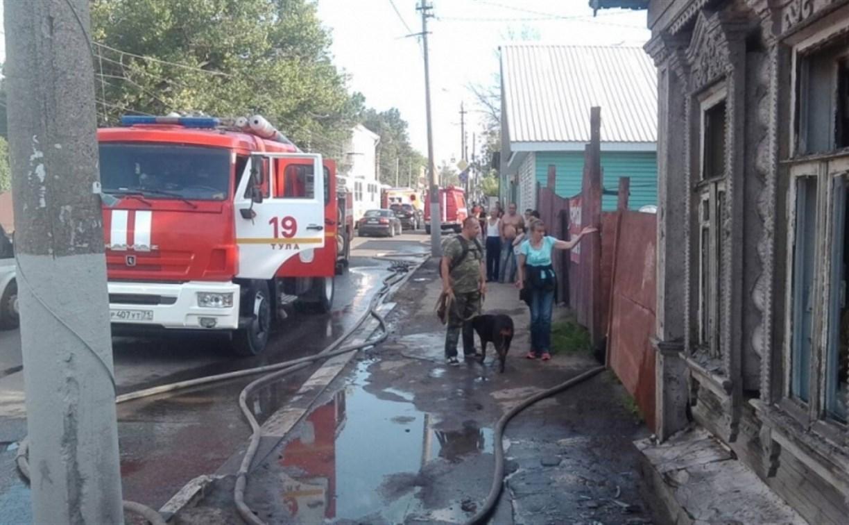 Из горящего дома в Туле пожарные спасли пятерых котят
