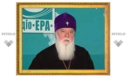 Главе Киевского Патриархата предложили сдать кровь или часть волос на анализ