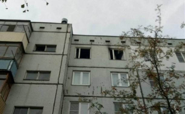 На пожаре в Плеханово погиб мужчина