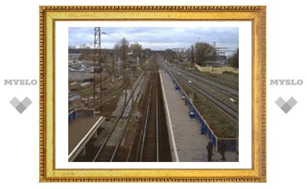 В Новомосковске обвалилась железнодорожная платформа