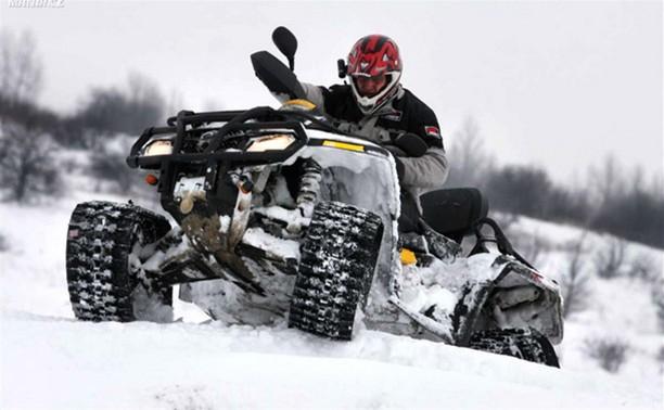 За год в Тульской области выросло количество квадроциклов и снегоходов