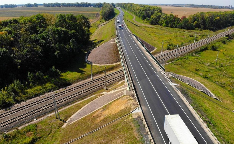 В Плавском районе отремонтировали участок автодороги М-2 «Крым»