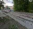 В Туле продолжается ремонт трамвайных путей