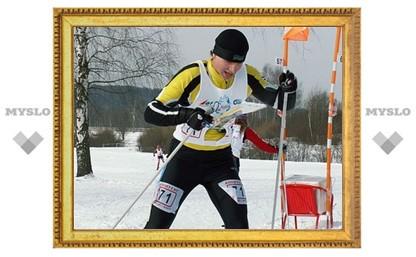 Тульские ориентировщики на лыжах выиграли бронзу чемпионата ЦФО