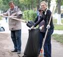На общегородском субботнике лучше всех уборку провел Пролетарский район
