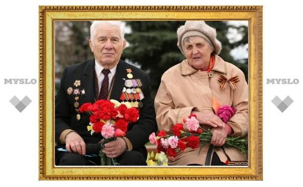 В Зареченском районе Тулы накануне 9 мая поздравили ветеранов