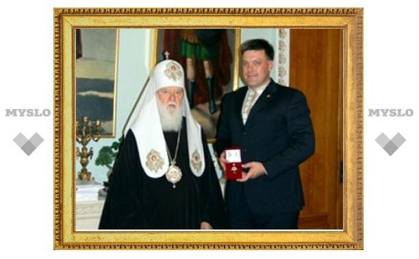 На Украине лидер раскольников дал орден лидеру националистов