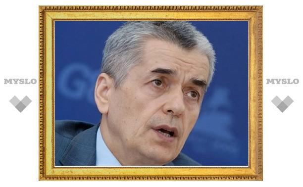 Ситуация с гриппом H1N1 вызывает у Онищенко сдержанный оптимизм