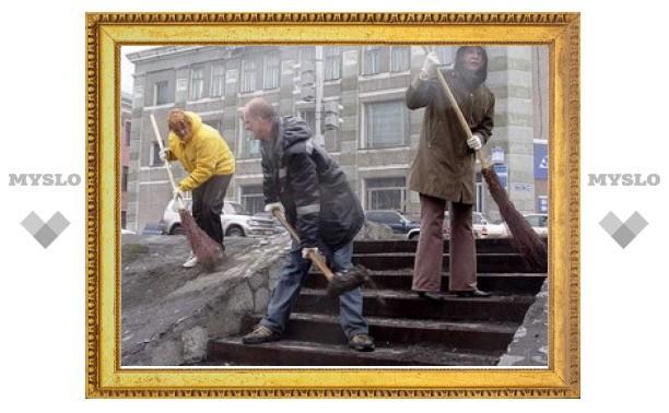 Когда Новомосковск очистят от мусора
