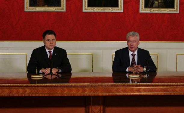 Владимир Груздев встретился с Сергеем Собяниным