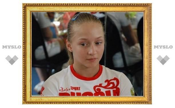 Тульская гимнастка готовится к чемпионату Европы