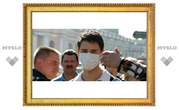 Тулякам грозит свиной грипп