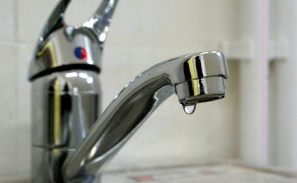 В четверг на некоторых улицах Тулы не будет холодной воды
