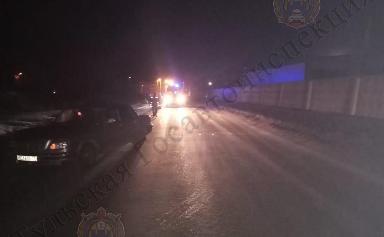 В Новомосковске пешеход погиб в ДТП