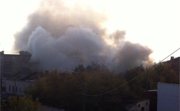 В пожаре на улице Октябрьской пострадала пенсионерка