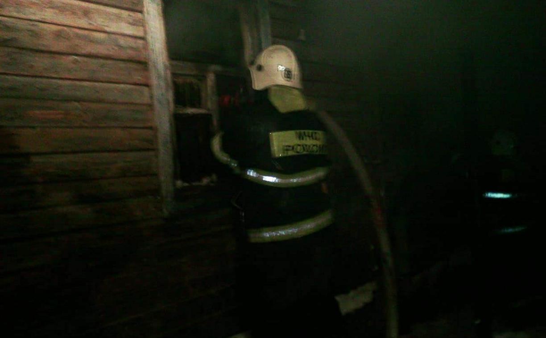 На пожаре в Тульской области погиб мужчина