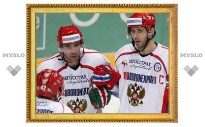 Россия обыграла Швецию в матче Евротура